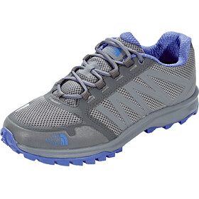 The North Face Litewave Fastpack Shoes Women Zinc Grey/Amparo Blue